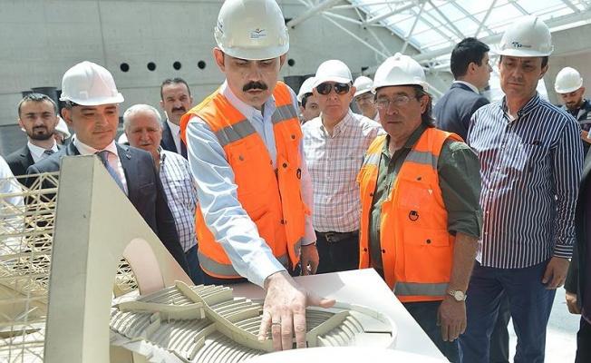 Bakan Kurum'dan yeni CSO binasında inceleme