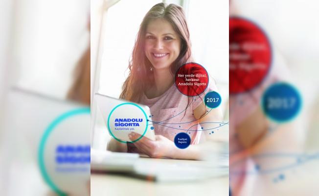 Anadolu Sigorta Faaliyet Raporu'na 4 Uluslararası Ödül