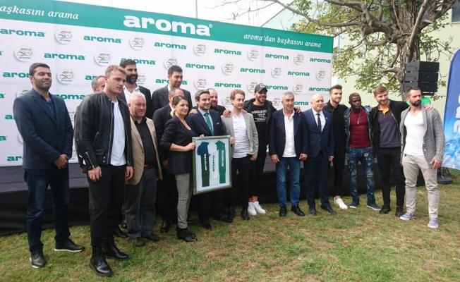 Aroma 50. Yılında, Bursaspor Oyuncuları İle Geleneksel Piknikte Bir Araya Geldi
