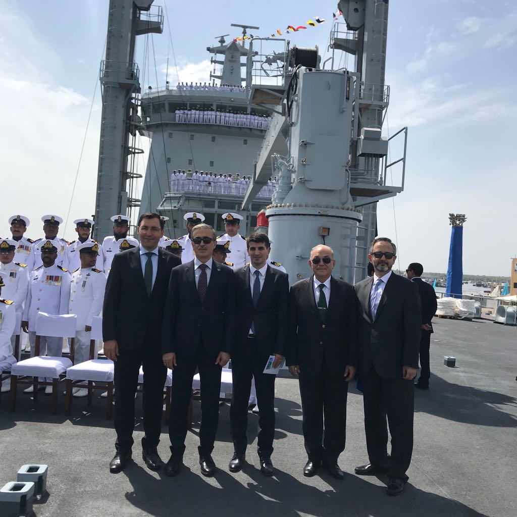 Basın Bülteni : STM Tarafından Geliştirilen Denizde İkmal Gemisi Pakistan'a Teslim Edildi