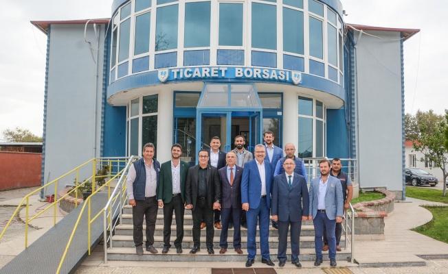 Başkan Özkan'dan Mustafakemalpaşa ziyareti