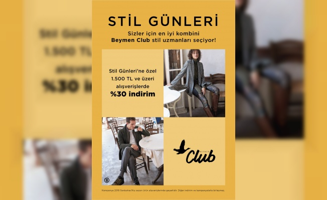 BEYMEN Club Stil Günleri Bursa'da