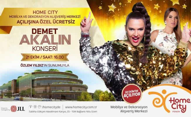 Demet Akalın Home City Pendik AVM' de Hayranları ile Buluşacak