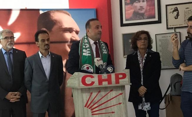 Deniz Baykal CHP Mudanya Belediye Başkan A. Adaylığı toplantısı