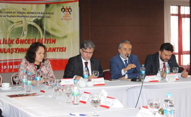 Evlilik Öncesi Eğitim Yaygınlaştırma Projesi Tanıtım Toplantısı Yapıldı