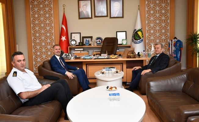 Kaymakam Görücü'den Başkan Taban'a İade-i Ziyaret