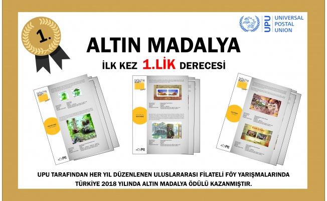 PTT, 15. Uluslararası Föy Yarışması'nda Altın Madalya'nın Sahibi Oldu