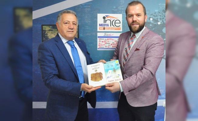 PTT Bursa Başmüdürü'nden İNCE ziyaret