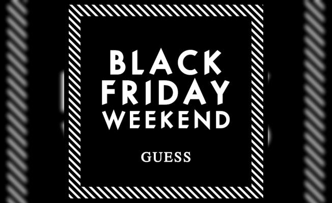 GUESS Moda Tutkunlarını Black Friday Çılgınlığına Bekliyor