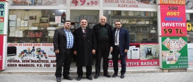 """BAŞKAN YILMAZ'DAN """"ÇALIŞAN GAZETECİLER GÜNÜ"""" ZİYARETİ"""