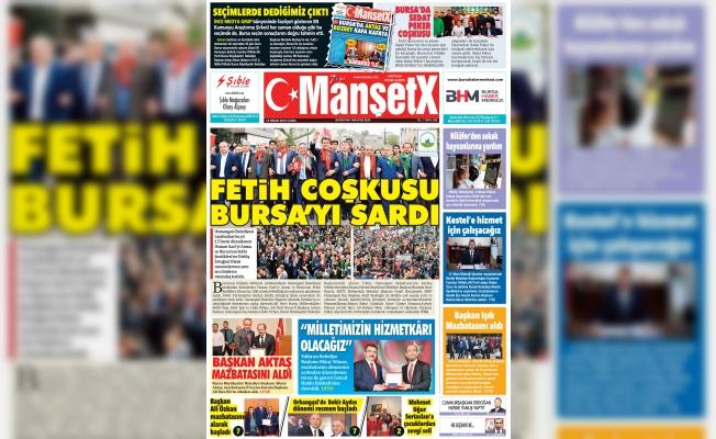 Manşetx Gazetesi 280. Sayısı Çıktı