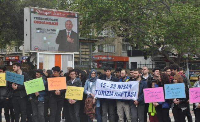 ORHANGAZİ'DE TURİZM HAFTASI TÖRENLE BAŞLADI