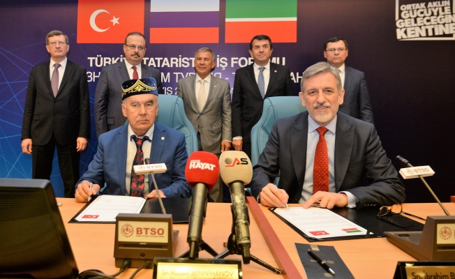 BTSO'DA TÜRKİYE - TATARİSTAN İŞ FORUMU