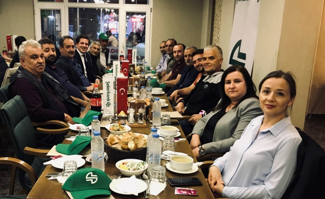 ORHANGAZİ'NİN ÜRETENLERİ ŞEKERBANK'IN İFTARINDA BULUŞTU