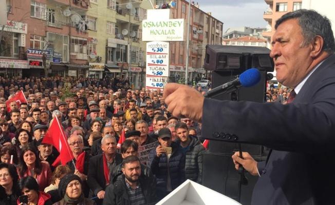 CHP'Lİ GÜRER'DEN EMEKLİLİKTE YAŞA TAKILANLARA ÇAĞRI: GEÇERLİ OY VERİN