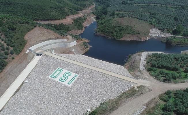 Bursa Mudanya Yalıçiftlik Barajı İşletmeye Hazır