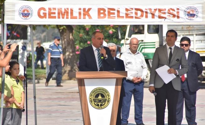 GEMLİK'TE ŞANLI KURTULUŞUN 97. YILI KUTLANDI