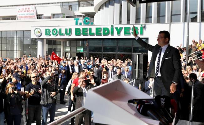 """BAŞKAN İMAMOĞLU: """"MİLLİ MESELEDE PARTİYE DAVET YANLIŞ!"""""""