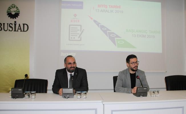 SANAYİ DOKTORA PROGRAMI BUSİAD'DA ANLATILDI