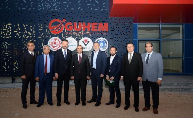 Sanayi ve Teknoloji Bakan Yardımcısı Mehmet Fatih Kacır'dan GUHEM'e Ziyaret