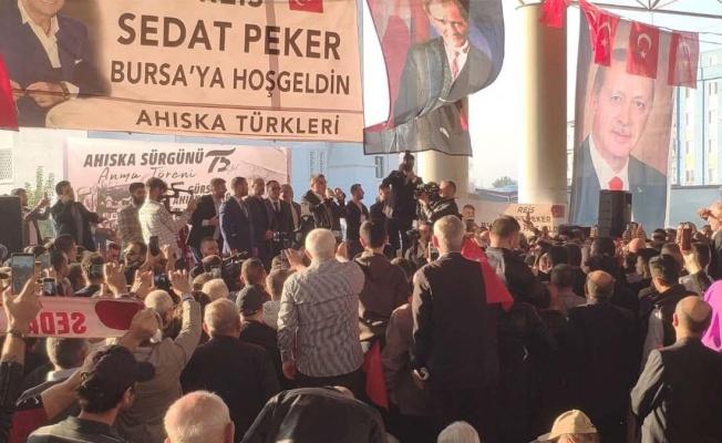 SEDAT PEKER'DEN AHİSKA TÜRKLERİNE BİRLİK ÇAĞRISI