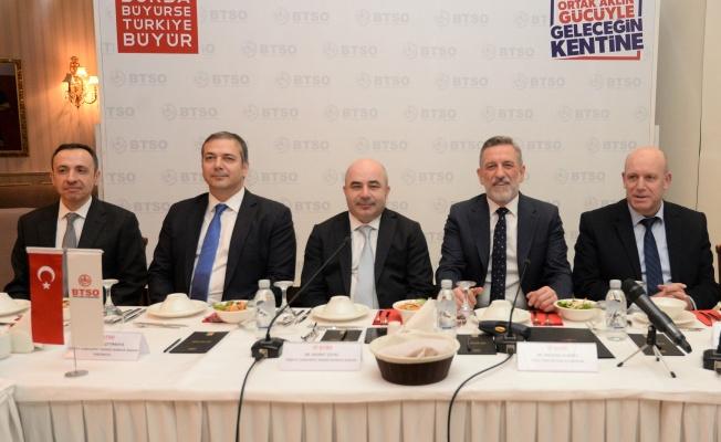 Btso'nun konuğu TC.Merkez Bankası Başkanı Murat Uysal oldu