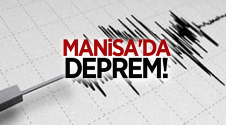 MANİSA'DA DEPREM!