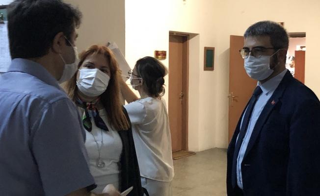 UZM. DR. KAŞIKCI'DAN ADLİYE ZİYARETİ