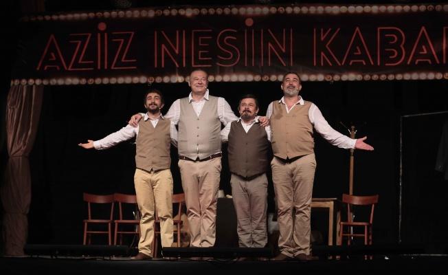 """""""Aziz Nesin Kabare"""" Nilüfer'de sahnelendi"""