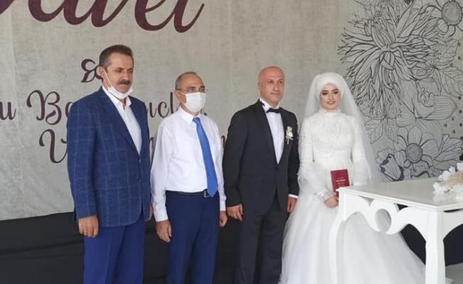Bakan Faruk Çelik'in koruması evlendi