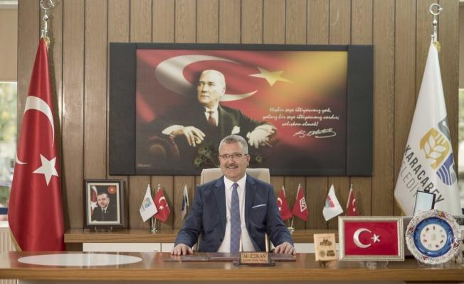 Başkan Ali Özkan'dan 30 Ağustos mesajı