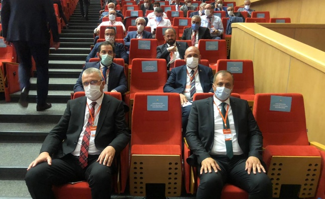 Başkan Aydın Ankara'da Belediye Başkanları Toplantısına Katıldı