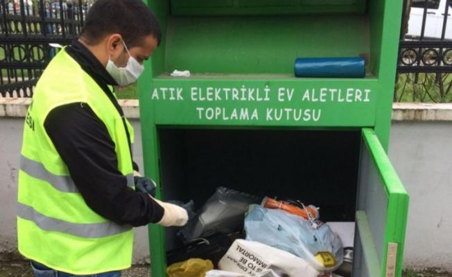 Bursa'da atıklar 'çöpe' değil 'geri dönüşüme'