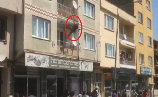 Bursa'da intihar girişimi korkuttu