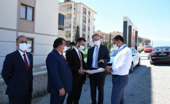 Bursa'da Kuzey Doğu İmar Sınırı yollarla çiziliyor