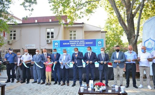 Bursa Yavuzselim Parkı açıldı