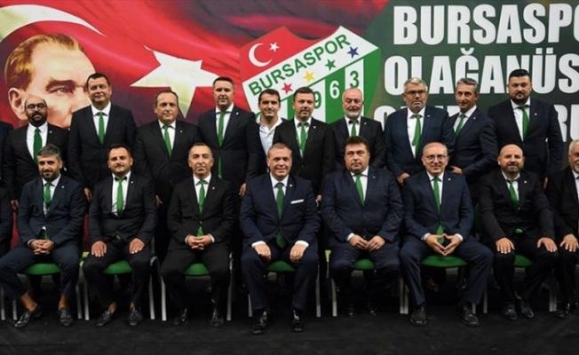 Bursaspor'un yeni başkanı Erkan Kamat oldu