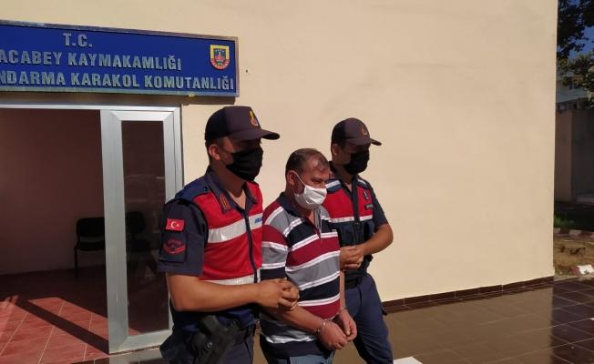 Cezaevi firarisi şahıs Karacabey'de yakalandı