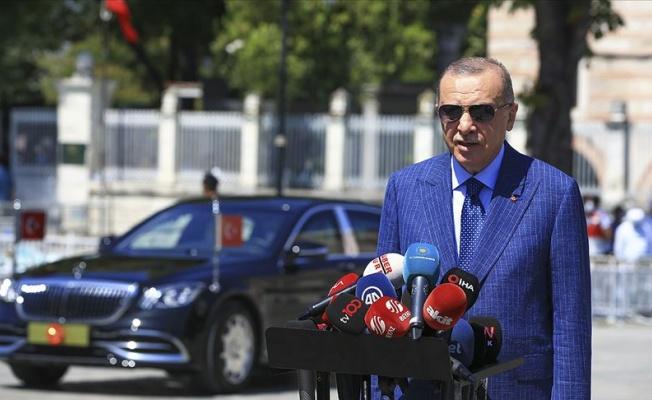 Cumhurbaşkanı Erdoğan: Her şeyimizle Lübnan'ın yanında olacağız