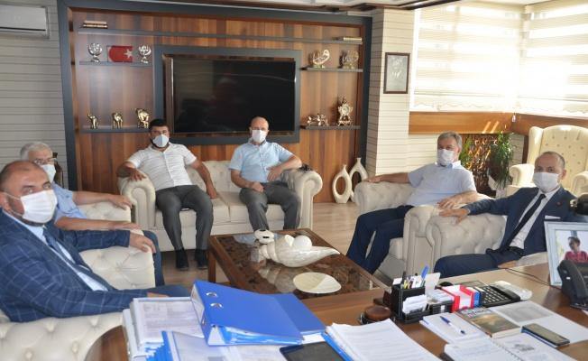 Cumhuriyet Başsavcısı Muammer Çoban'dan iade-i ziyaret