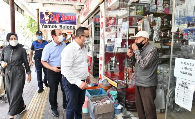 Mustafakemalpaşa'da korona ile mücadele aralıksız devam ediyor