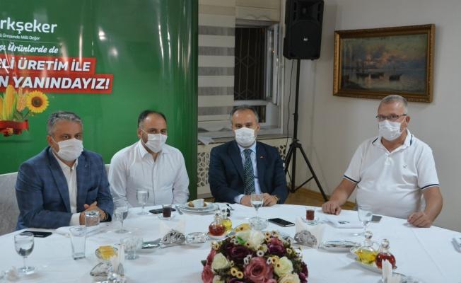 Türkiye Şeker Fabrikaları Genel Müdürü'ne ziyaret