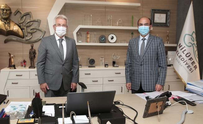 Vali Yardımcısı Kılıç'tan Başkan Erdem'e ziyaret