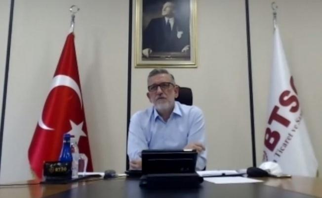"""Başkan Burkay: """"Pandemiye rağmen kurulan şirket sayısı artıyor"""""""