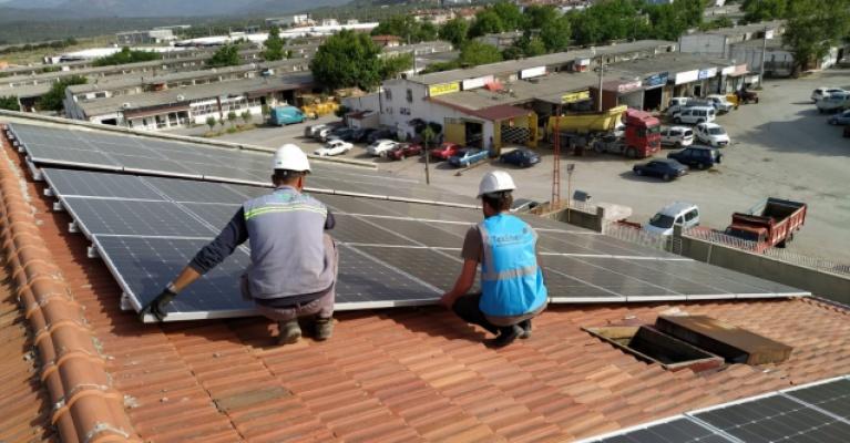 Başkan İbrahim Şahintaş: Türkiye temiz enerji devrimindeki yerini alıyor