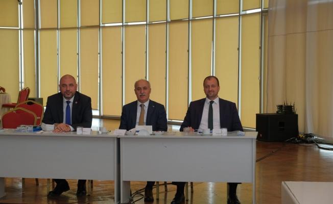 Bursa'da kaçak yapılarla ilgili mücadele toplantısı yapıldı