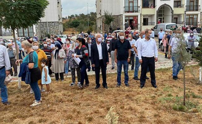 Bursa'da TOKİ Yönetimi protesto edildi