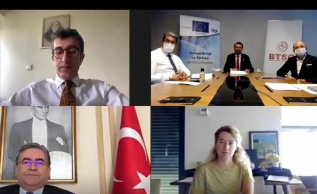 Bursa'da Türkiye-Belçika Ticari İlişkileri ve fırsatlar webinarı gerçekleştirildi