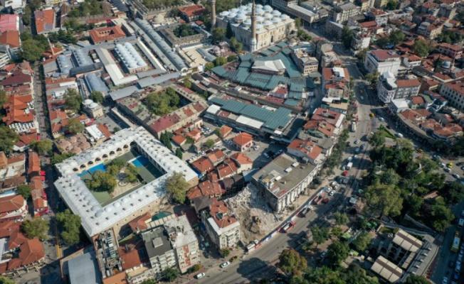 Bursalılar Hanlar Bölgesi'nin yeni silüetine kavuşacak olmasını memnuniyetle karşıladı