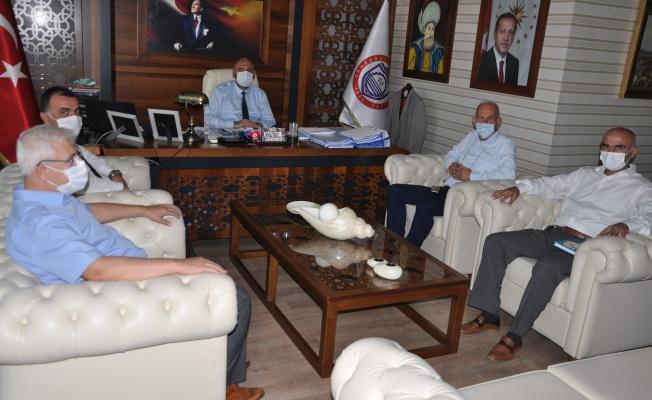 BUSKİ Şube Müdürü'nden Başkan Aydın'a ziyaret
